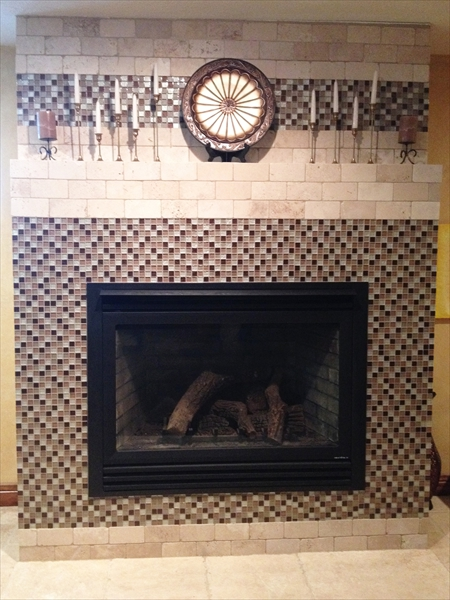 Custom Fireplace Refinishing