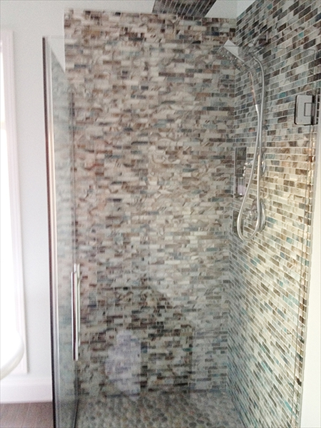 Glass Mosaic Shower Tile