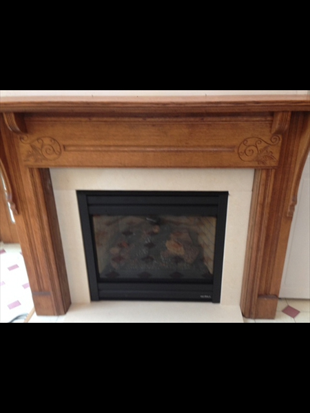 Tradition Fireplace Surround and Mantle
